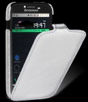 Чехол Melkco Jacka leather case for Lenovo A706 /A760 (white)