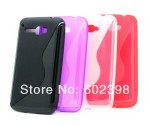 Чехол-накладка TPU cover case for Alcatel OT5035 (black)