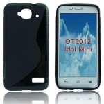 Чехол-накладка TPU cover case for Alcatel OT6012 (black)
