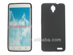 Чехол-накладка TPU cover case for Alcatel OT6040 (black)
