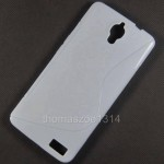 Чехол-накладка TPU cover case for Alcatel OT6040 (white)