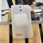 Чехол-накладка TPU cover case for Alcatel OT8008 (white)