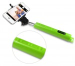 Monopod Selftimer Wireless Zoom+Bluetooth+USB green