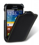 Чехол Melkco Jacka leather case for Samsung S7500 Galaxy Ace Plus (black)