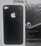 Наклейка Hollo Guard Carbon Skin для iPhone 4/4S (black)