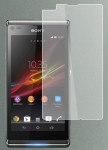 Защитная плёнка Screen Guard for Sony Xperia L C2105 C2104 S36 (clear)