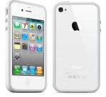 Бампер Apple для iPhone 4/4S MC597 (white)