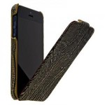 Чехол Borofone Lizard flip leather case for iPhone 5/5S (black)
