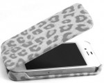 Чехол Nuoku LEO stylish leather case for iPhone 4 /4S (white)