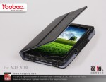 Yoobao Executive leather case для Acer A100 7 inch (black)