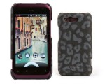 Чехол-накладка Nuoku LEO stylish leather cover for HTC Rhyme G20 (black)