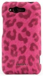 Чехол-накладка Nuoku LEO stylish leather cover for HTC Rhyme G20 (pink)