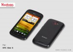 Чехол-накладка Yoobao 2 in 1 Protect case для HTC One S Z320e (black)
