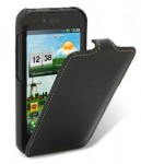 Чехол Melkco Jacka leather case for LG P970 Optimus (Black)