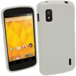 Чехол-накладка TPU cover case for LG Google Nexus 4 E960 (white)