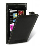 Чехол Melkco Jacka leather case for Nokia N9 (black)