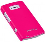 Чехол-накладка ROCK Colorful back cover для Nokia 700 (rose red)