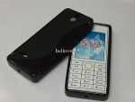 Чехол-накладка TPU cover case for Nokia Asha 515 (black)