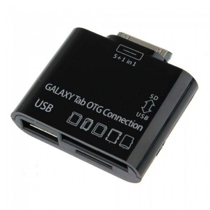 Samsung Galaxy Tablet OTG 5-in-1 Connection Kit