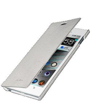 Чехол Melkco Book leather case for Lenovo K900 (white)