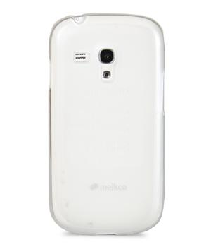 Чехол-накладка Melkco Poly Jacket TPU cover for Samsung S8190 Galaxy S III mini (transparent)