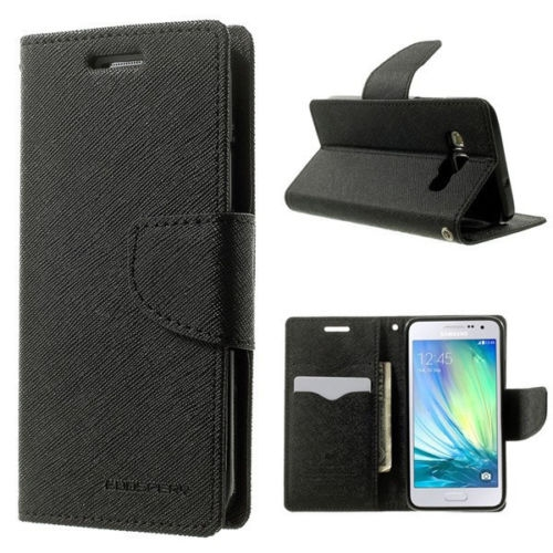 Чехол Book Cover Goospery for Samsung J320 Galaxy J3 (black)