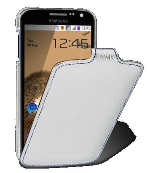 Чехол Melkco Jacka leather case for Samsung i9260 Galaxy Premier GT (white)