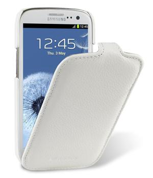 Чехол Melkco Jacka leather case for Samsung i9300 Galaxy S III (white)