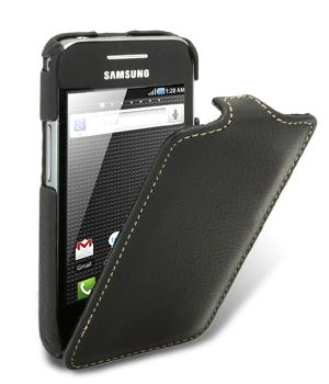 Чехол Melkco Jacka leather case for Samsung S5830 Galaxy Ace (black)
