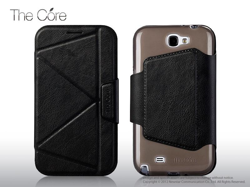 Чехол Momax The Core Smart case for Samsung N7100 Galaxy Note II (black)