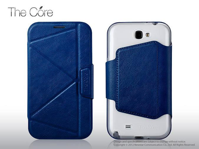 Чехол Momax The Core Smart case for Samsung N7100 Galaxy Note II (blue)