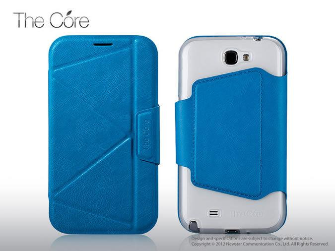 Чехол Momax The Core Smart case for Samsung N7100 Galaxy Note II (light blue)
