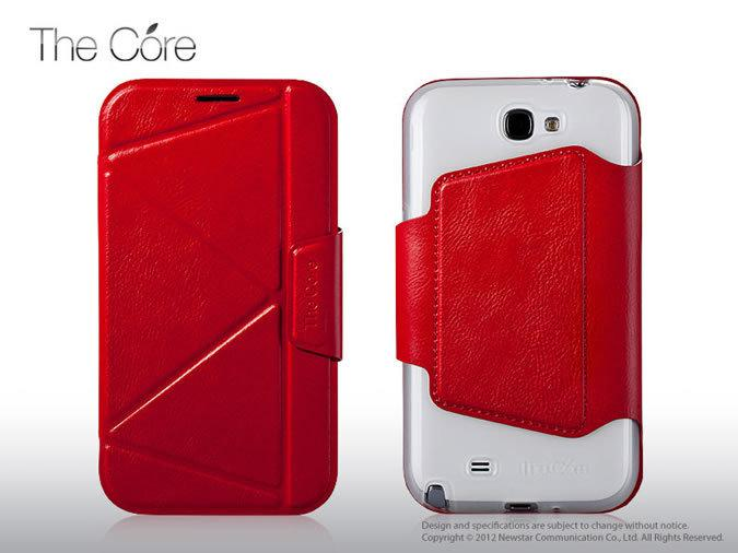 Чехол Momax The Core Smart case for Samsung N7100 Galaxy Note II (red)