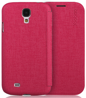 Чехол Yoobao Slim Leather case for Samsung i9500 Galaxy S IV (red)
