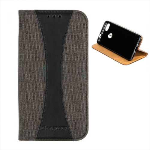Чехол Goospery Book Cover Canvas Series для Samsung i9300 Galaxy S3 (black)