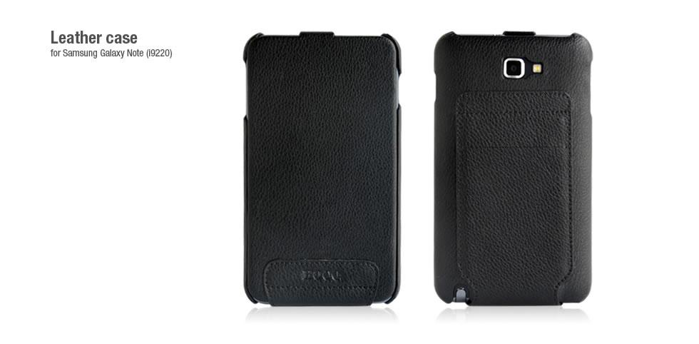 Чехол HOCO Classic leather case for Samsung N7000 Galaxy Note i9220 (black)