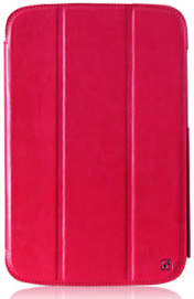 Чехол HOCO Crystal folder protective case for Samsung N5100 Galaxy Note 8.0 (rose red)