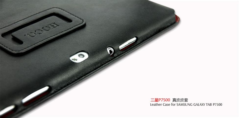 HOCO leather case for Samsung P7500 Galaxy Tab 10.1 (black)