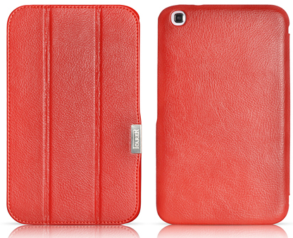 Чехол iCarer leather case for Samsung Galaxy Tab 3 8.0 T310 (red)
