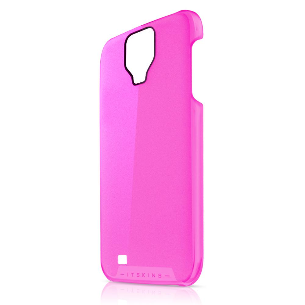 Чехол-накладка itSkins The new Ghost cover case for Samsung i9500 Galaxy S IV (pink)
