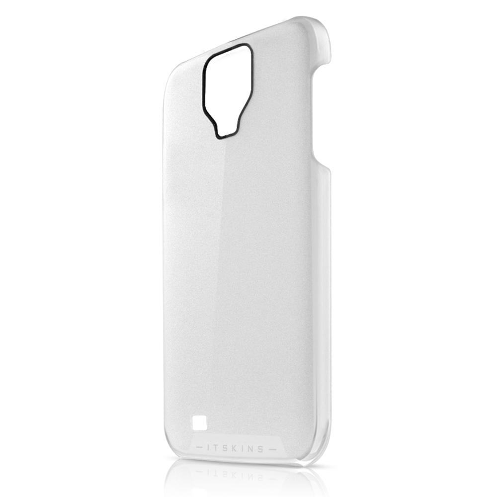 Чехол-накладка itSkins The new Ghost cover case for Samsung i9500 Galaxy S IV (white)