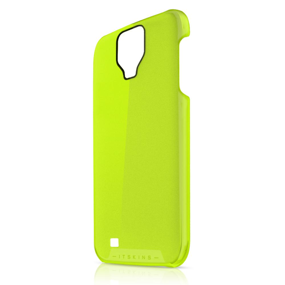 Чехол-накладка itSkins The new Ghost cover case for Samsung i9500 Galaxy S IV (yellow)