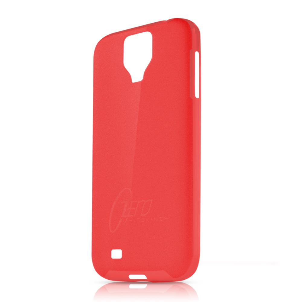 Чехол-накладка itSkins Zero.3 cover case for Samsung i9500 Galaxy S IV (red)