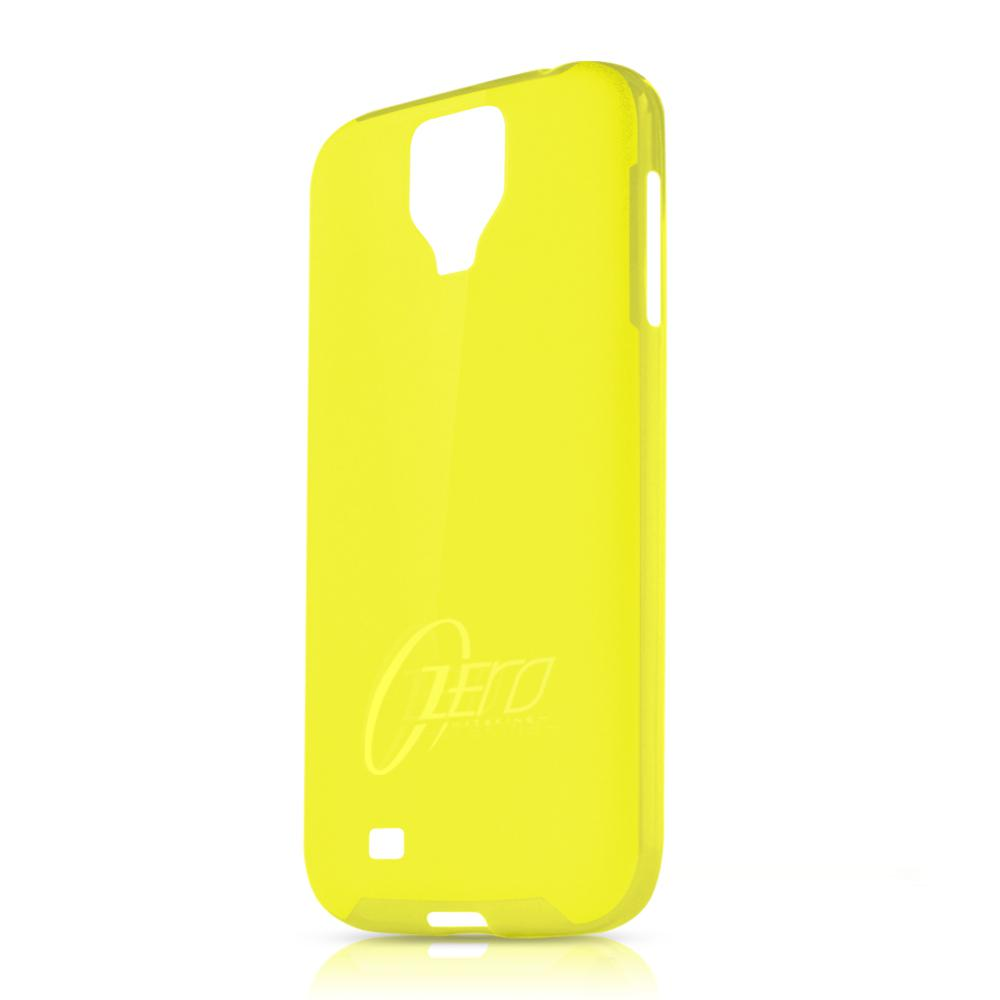 Чехол-накладка itSkins Zero.3 cover case for Samsung i9500 Galaxy S IV (yellow)