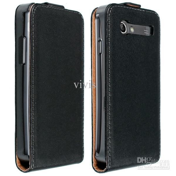 Чехол Leaf leather flip case for Samsung  i9070 Galaxy S Advance (black)