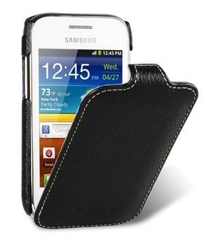 Melkco чехол-флип Jacka leather case for Samsung S6802 Galaxy Ace Duos (black)
