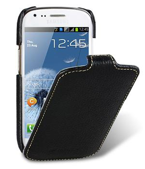 Melkco Jacka leather case for Samsung i8190 Galaxy S III Mini (black)