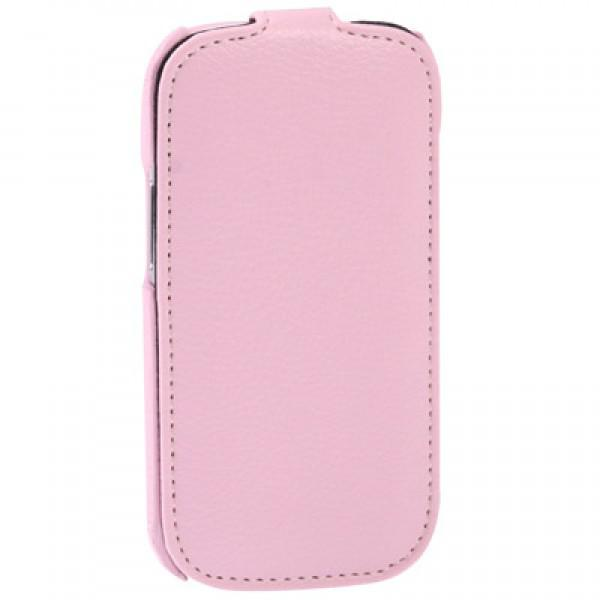 Чехол Melkco Jacka leather case for Samsung i8190 Galaxy S III Mini (pink)