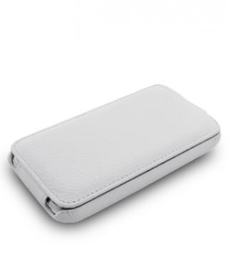 Чехол Melkco Jacka leather case for Samsung i9190 Galaxy S IV Mini (white)