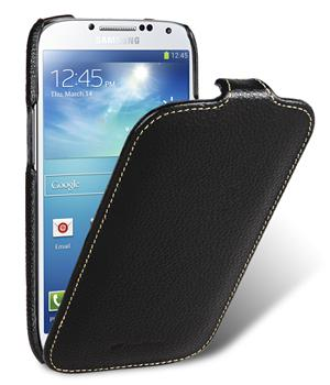 Чехол Melkco Jacka leather case for Samsung i9500 Galaxy S4 (black)